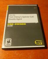 Tom Clancy's Splinter Cell Double Agent Microsoft Xbox 360 Ubisoft