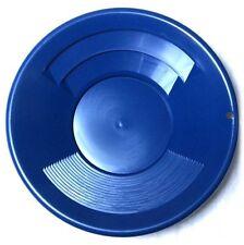 Goldwaschpfanne SE Gold Pan 10'' - 25 cm blau Kunststoff Goldwaschen Waschpfanne