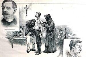 St. Francis Hospital 1891 Doctor SHRADY KOCH CONSUMPTION TREATMENT Degan Print