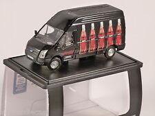 FORD TRANSIT LWB Coca Cola / Coke Zero in Black 1/76 scale model OXFORD DIECAST