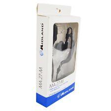 Auricular+Micrófono MIDLAND MA 27-M, VOX y PTT, Para modelos  IP67 Midland