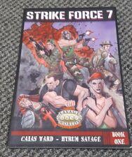 Strike Force 7 - Savage Worlds RPG / Super Genius Games Book One
