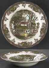 Johnson Brothers THE FRIENDLY VILLAGE Stone Wall Rimmed Soup Bowl 4654138