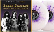"""Black Sabbath - Sabotage In Concert - 2 X 10"""" Splatter Vinyl Limited - Brand New"""