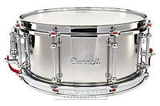 Dunnett Classic Stainless Steel Snare Drum 14x6.5 - VIDEO