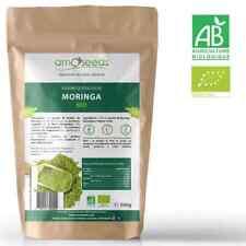 Poudre de Moringa Bio 500g - Qualité Supérieure - amOseeds