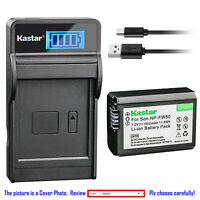 Kastar Battery LCD Charger for Sony NP-FW50 BCTRW & Sony ILCE-3000 Alpha a3000