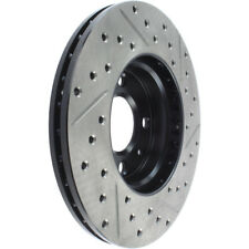 Disc Brake Rotor-Sport Drilled/Slotted Disc Front Right Stoptech 127.50015R