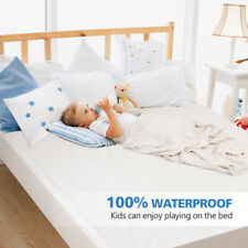 MATTRESS COVER PROTECTOR Waterproof Pad Queen Size Bed Hypoallergenic Cotton