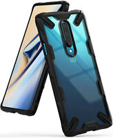 For OnePlus 7 Pro Case   Ringke [FUSION-X] Clear PC Back Shockproof Bumper Cover