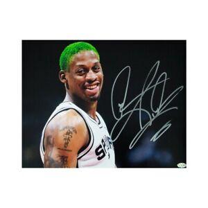 Dennis Rodman Autographed San Antonio Spurs 11x14 Photo - Leaf COA