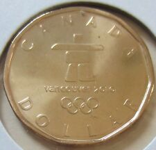 2010 Canada Lucky Loonie One Dollar Coin. (UNC.)
