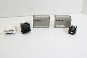 (S) Canon TTL Hot Shoe Adapter 2 & Off Camera Shoe Adapter