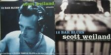 Scott Weiland 1998 12 Bar Blues promo flat New old stock Stone Temple Pilots