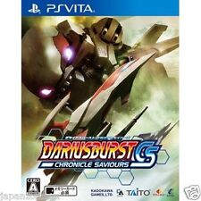 Used PS Vita DARIUSBURST CHRONICLE SAVIOURS SONY PLAYSTATION JAPANESE IMPORT