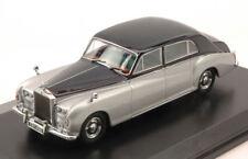 Rolls Royce Phantom V 1959-1968 Silver / Dark Blue 1:43 Model OXFORD