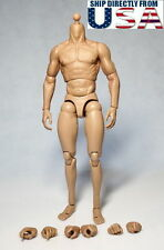 "ZC Toys 1/6 Muscular Male Figure Body For 12"" Wolverine Head Play U.S.A. SELLER"