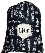 Personalised drawstring library bag - Harry Potter