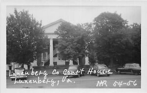 H75/ Lunenberg Virginia RPPC Postcard c1950s County Court House 215