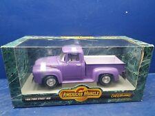 ertl American Muscle 1956 Ford Street Rod Purple 1:18