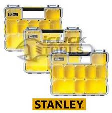 Stanley FatMax Deep Waterproof Pro Organiser Metal Latch 1-97-518 STA197518 x3