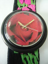 BC101 Swatch - 1988 Pop Roses Are Forever Classic Swiss Made Authentic