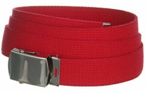 Canvas Military Web Belt - Casual Sports Tactical Belt for Men & Women