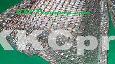 1999 99 Katana GSX 600 750 6pc WEP D Chrome Fairing Grilles Grills Vents Screens