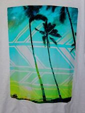 Hang Ten T Shirt Tropical Theme--size L, great vivid colors  Soft & Sturdy!  NWT