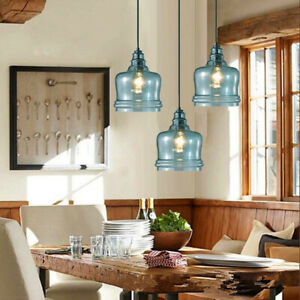 Glass Pendant Light Bedroom Ceiling Lights Kitchen Lamp Bar Chandelier Lighting