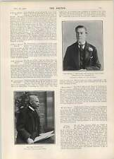 1902 The Earl Of Abingdon Lady Rothschild Miss Elfrida Clement