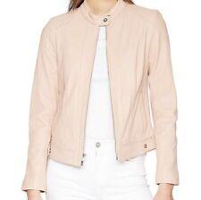 c6dbdcf10da Women's Cole Haan Seamed Leather Jacket Size M