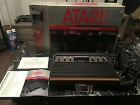 1978 Atari VCS Light SIXER Console System  Box Complete