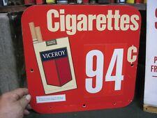 KOOL CIGARETTES SIGN VICEROY TOBACCO STORE DISPLAY HEADER 1979 ORIGNAL TOPPER