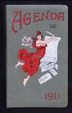Agenda de 1911 La  Dépèche Toulouse - Comme neuf