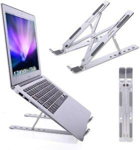 Portable Adjustable Laptop Stand Notebook Tablet Holder Fordable Computer Desk