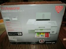 NEW IN OPEN BOX LEXMARK X6575 PROFESSIONAL WIRELESS 4 IN 1 PRINTER