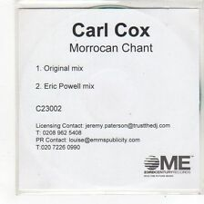 (FN944) Carl Cox, Morrocan Chant - DJ CD