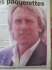GERARD DEPARDIEU A GARDE LES PAQUERETTES - INTERVIEW - 10/02/1999 -