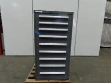 Stanley Vidmar 9-Drawer Industrial Parts Tool Storage Shop Cabinet 30