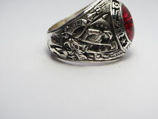 West Point ,1972, Size 10 ,# D71 Sterling Silver , Ring , Us Military Academy