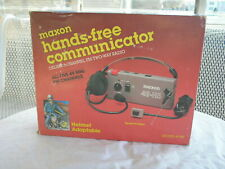 New Maxon Hands Free Communicator Model 49-H5  Deluxe 5 Channel FM Two way Radio