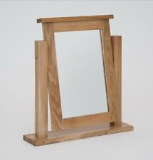 Hereford Solid Oak Dressing Table Mirror - Brand New - HODTM - RRP £99.99