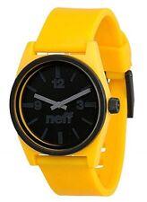 New Neff Daily Duo Watch Beach, streetwear accessories wristwatch Yellow/Black