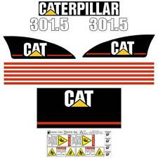 Cat 301.5 Decals - Repro Stickers Kit decal set