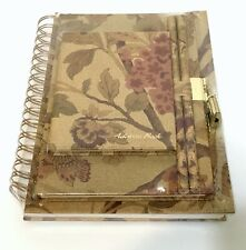 """Address Book and 2 Journals """"Once Upon a Rose"""" Raymond Waites Collection, New"""