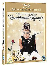 Breakfast at Tiffany's  50th ANNIVESARY EDITION BRAND NEW BLU RAY