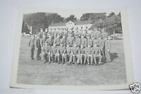 Nice Vintage US Soldiers Squadron WWII Black & White 1940s Photo Photograph Rare