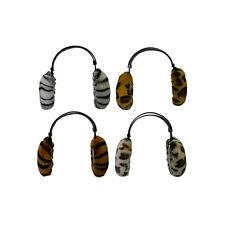 Kids Ear Muffs Warm Animal Pattern Adjustable Headband Winter Ear Warmers