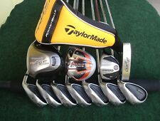 TaylorMade King Cobra Irons Driver Wood Hybrid Complete Golf Club Set Mens RH